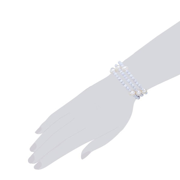 Perlový náramok Nova Pearls Copenhagen Fione