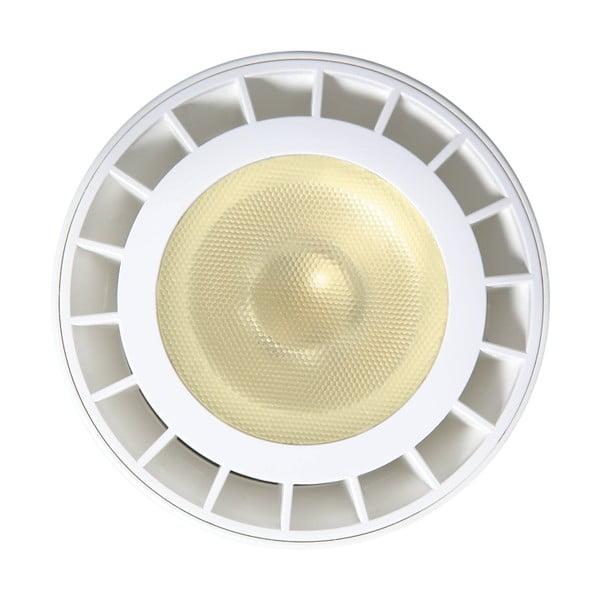Biely bodový vonkajší reflektor Best Season, ø 12,1 cm