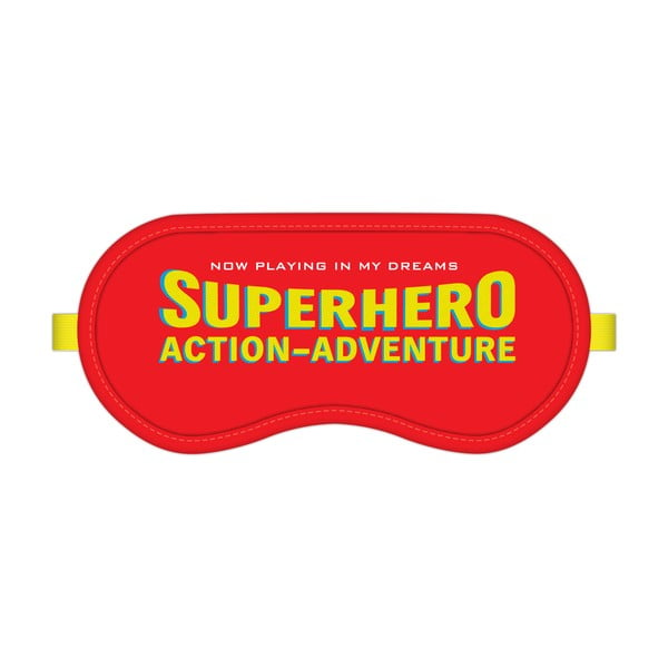Maska na spanie Action Superhero