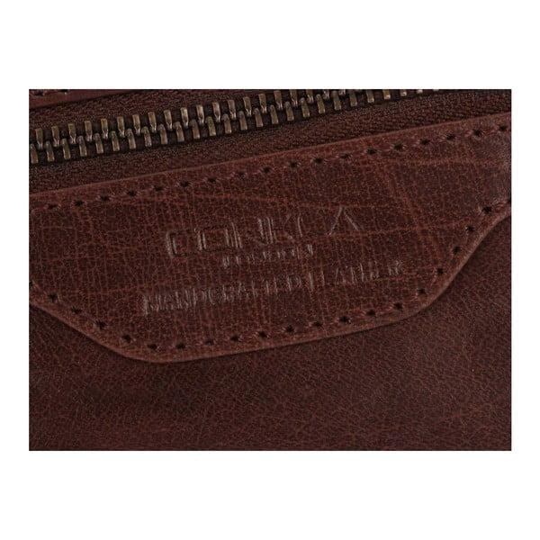 Kožená kozmetická taška Winderemere Brown