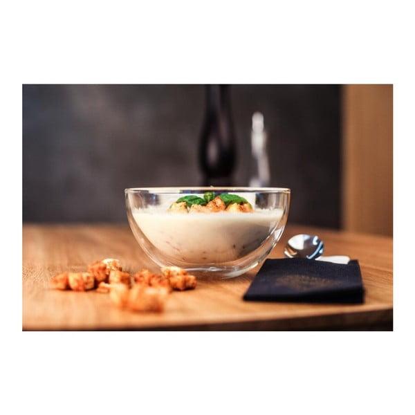Dvojitá šalátová miska Vialli Design Amo, 500 ml