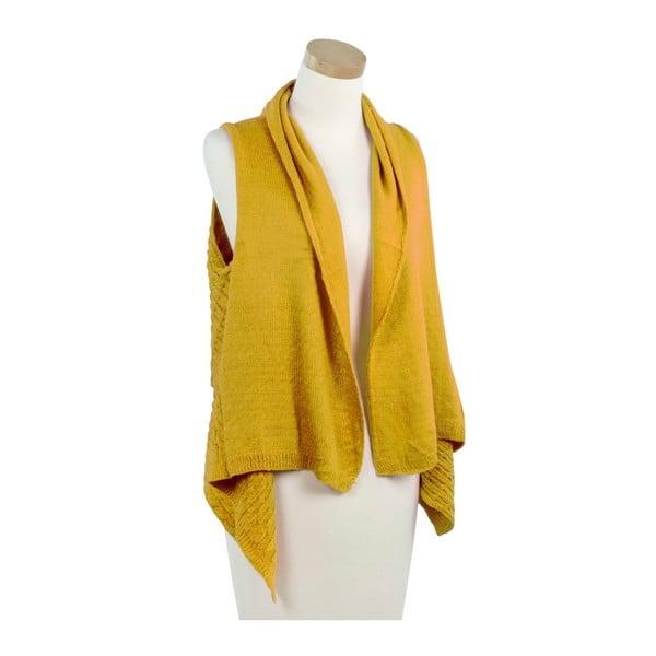 Žltá pletená vestička Ginny