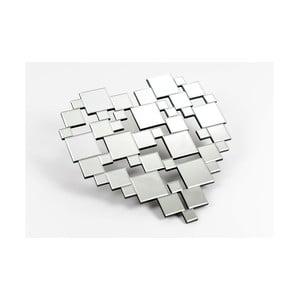 Zrkadlová dekorácia Destructed Heart