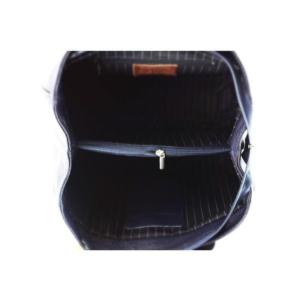 Kožená kabelka Sophie, čierna