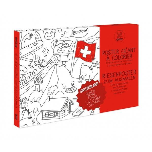 Maľovanka OMY Switzerland (70 x 100 cm)