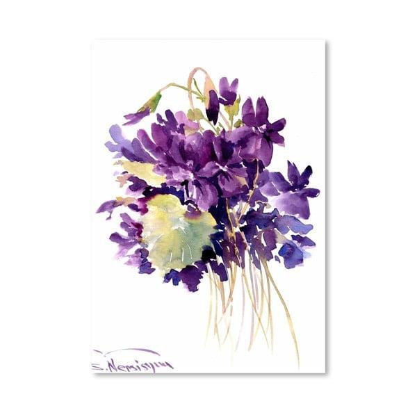 Plagát Wild Violets od Suren Nersisyan