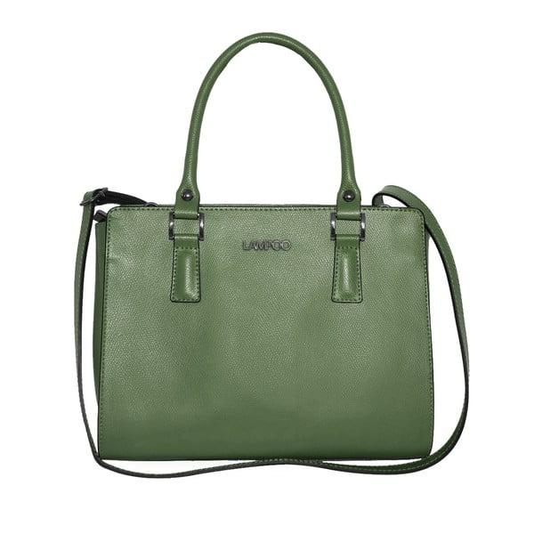 dffa003ad5 Zelená kožená kabelka Lampoo Oranno