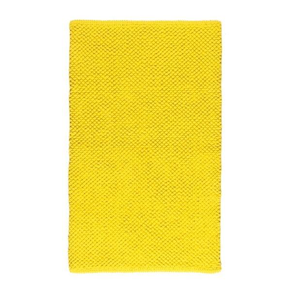 Kúpeľňová predložka Dotts Yellow, 60x100 cm