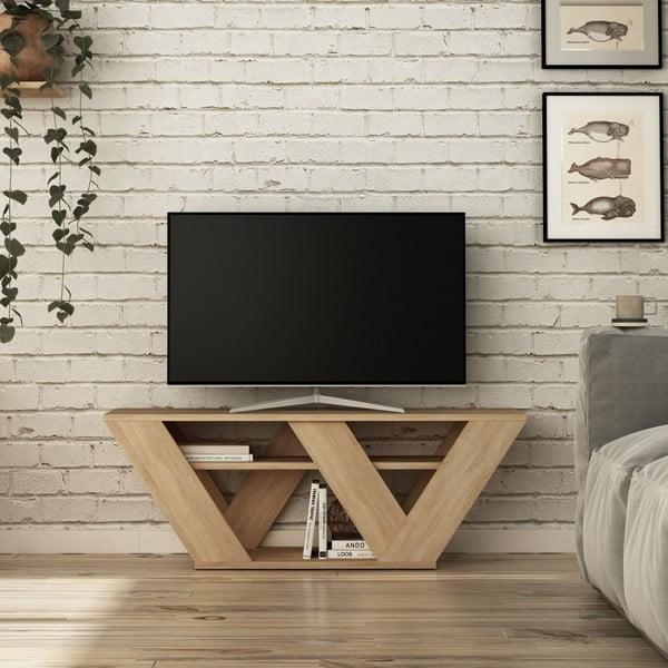 TV stolík v dekore dubového dreva Pipralla Oak