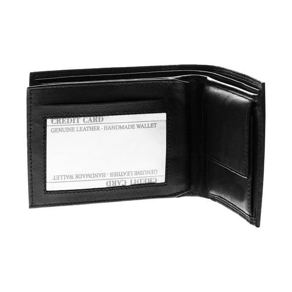 Kožená peňaženka Continuum 1511, dvojité prešívanie