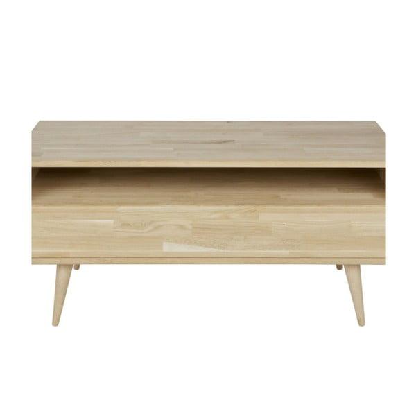 TV stolík z dubového dreva WOOOD Tygo