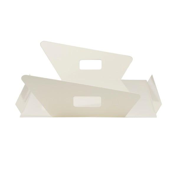 Kovový podnos Gie El 60x33 cm, biely