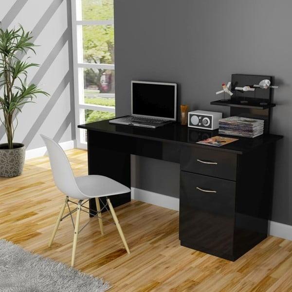 Pracovný stôl Lavanta Black