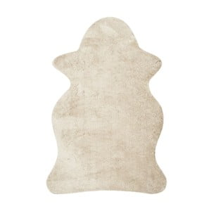 Biela umelá kožušina Tegan, 91x 152cm