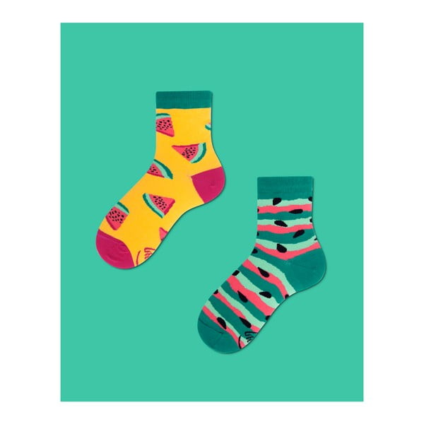 Detské ponožky Many Mornings Watermelon Splash, veľ. 27/30