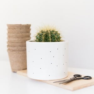 Kvetináč Dots, 13,5 cm
