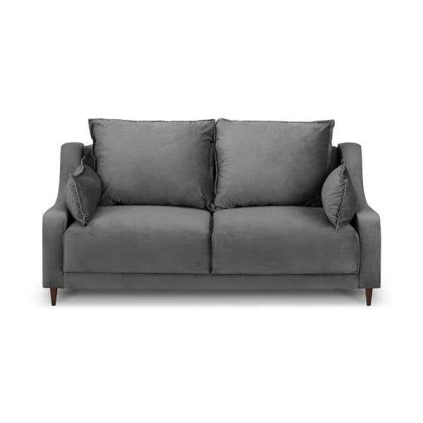 Sivá dvojmiestna pohovka Mazzini Sofas Freesia