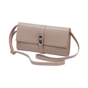 Staroružová kožená kabelka Andrea Cardone 1040