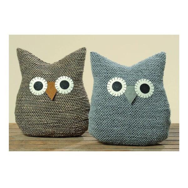 Sada 2 vankúšikov Owl Cushion