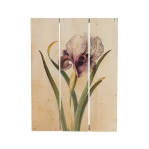 Drevený obraz Dijk Natural Collections Orchid, 19 x 25 cm