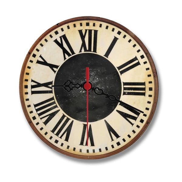 Nástenné hodiny Chalk Rome, 30 cm