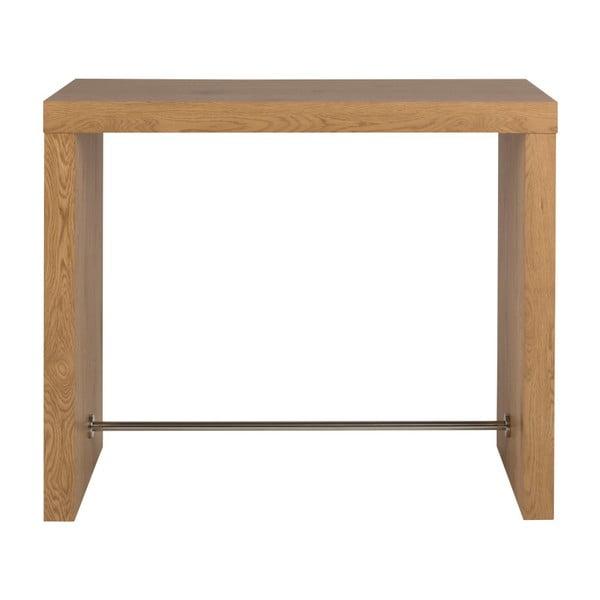 Barový stolík v dekore dubového dreva Actona Block
