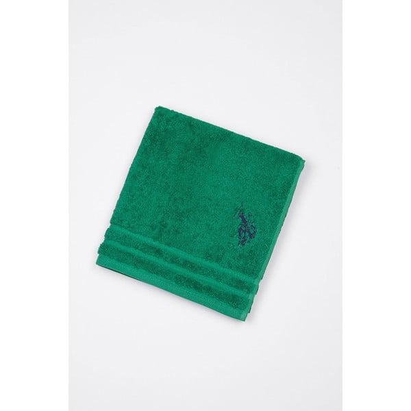 Zelená kúpeľňová predložka U.S. Polo Assn., 60 x 90 cm
