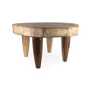Príručný stolík z dreva Suar Moycor Trunk, výška 40 cm