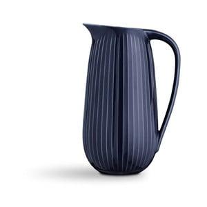 Tmavomodrý porcelánový džbán Kähler Design Hammershoi, 1,25 l
