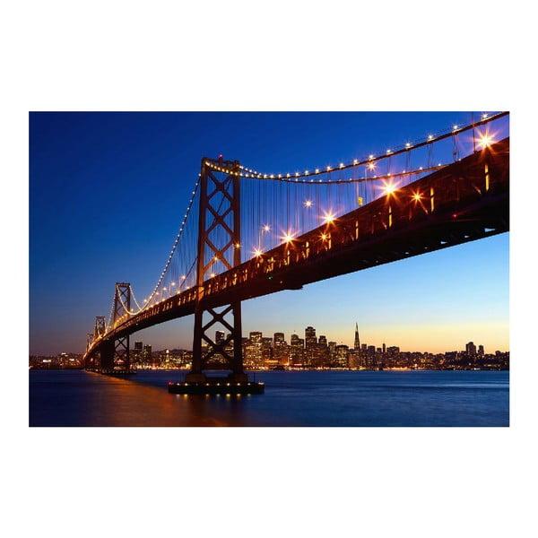 Maxi plagát San Francisco Skyline, 175x115 cm