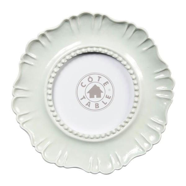 Fotorámček Fleur White, 19x1,2x19 cm