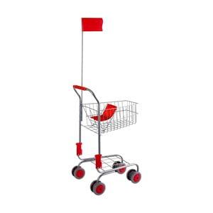 Detský nákupný košík Legler Shopping Trolley
