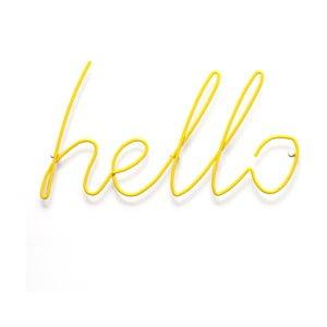 Žltý vešiak Hello Coat