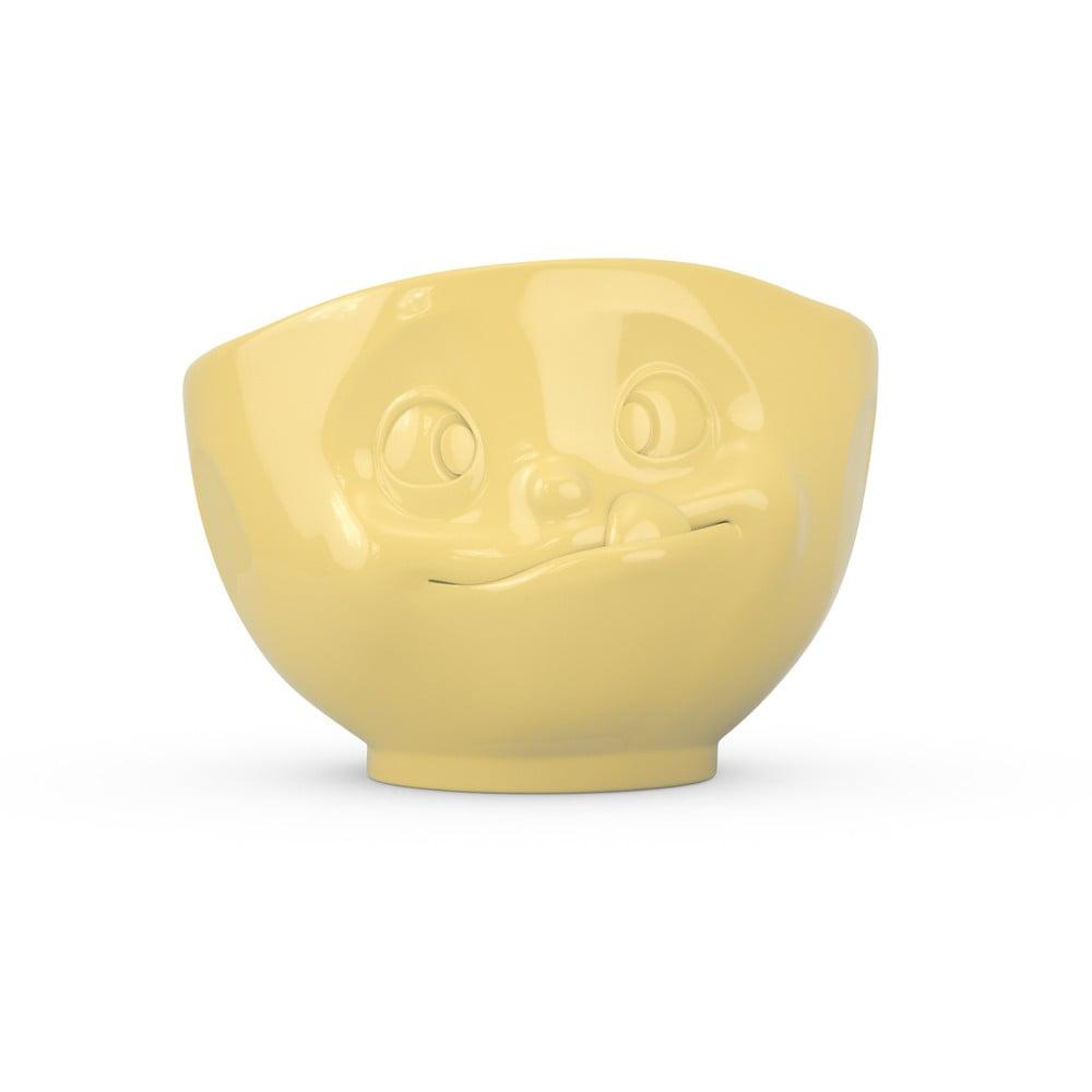 Žltá porcelánová miska maškrtná 58products