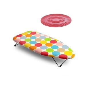 Set stolovej žehliacej dosky a termopodložky Mini Dots