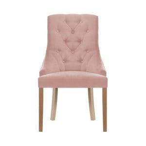 Svetloružová stolička Jalouse Maison Chiara