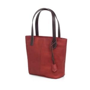 Dámska kožená kabelka Woox Medela Purpurea