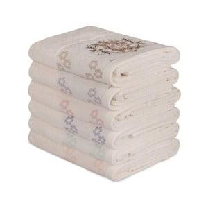 Sada 6 bavlnených uterákov Daireli Mesmo, 50×90 cm