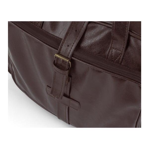 Pánska taška Solier S10, hnedá