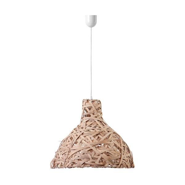 Stropné svetlo Bulb, 48 cm, hnedé
