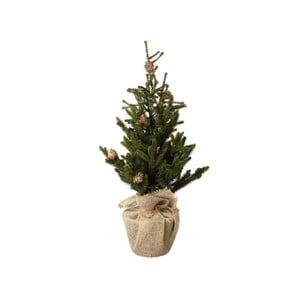Umelý vianočný stromček Parlane Hessian, výška 60 cm