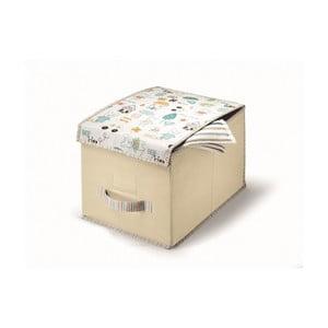 Béžový úložný box Cosatto Baby, 25x40cm