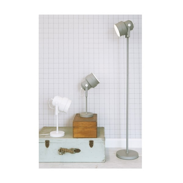 Biela stojacia lampa Leitmotiv Studio