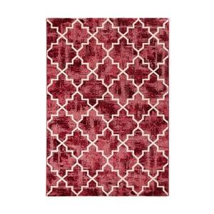 Červený koberec Mint Rugs Diamond, 80 x 150 cm