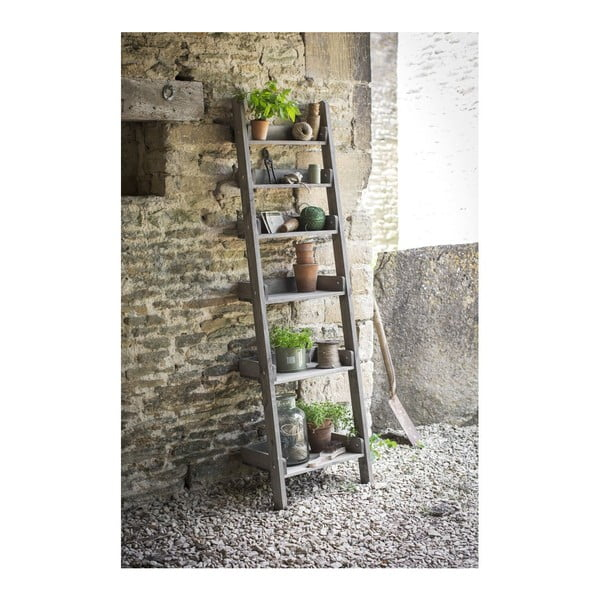 Drevený regál Ladder