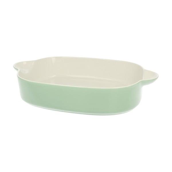 Porcelánová zapekacia misa Pot Green, 25.5 cm