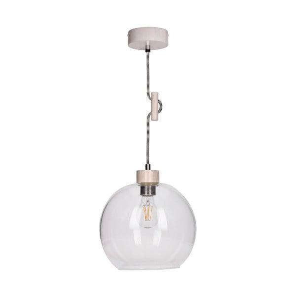 Biele závesné svetlo BRITOP Lighting Svea