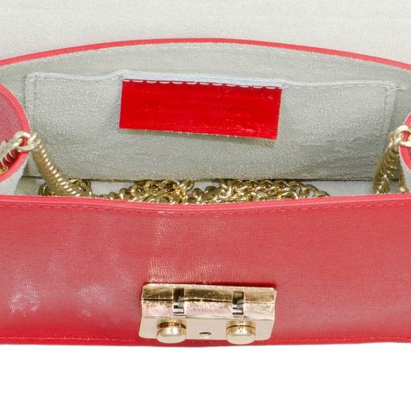 Kožená kabelka Markese 2416 Red