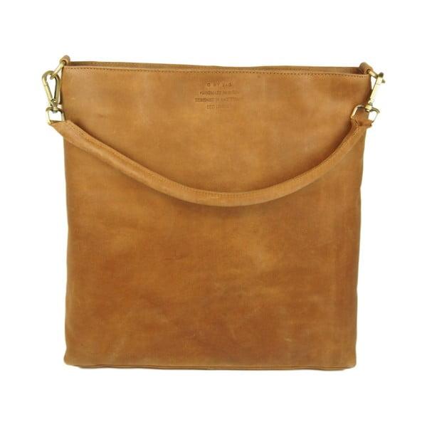 Kožená kabelka O My Bag The Janet, camel