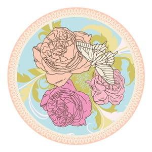 Sada 2 prestieraní Nisha Flower Illustration